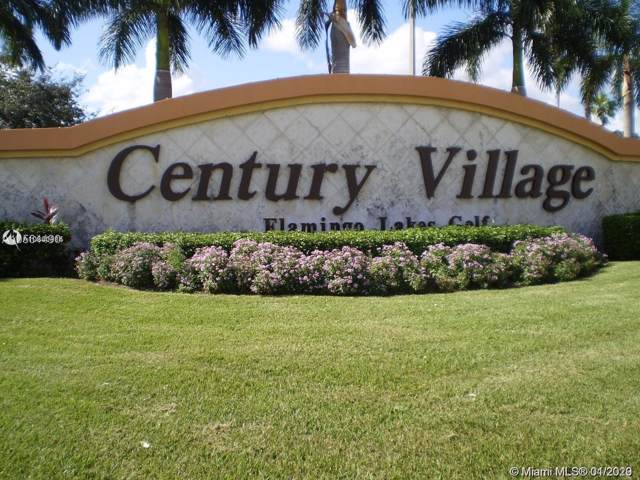 13255 SW 7th Ct 205D, Pembroke Pines, FL 33027 (MLS #A10801914) :: RICK BANNON, P.A. with RE/MAX CONSULTANTS REALTY I