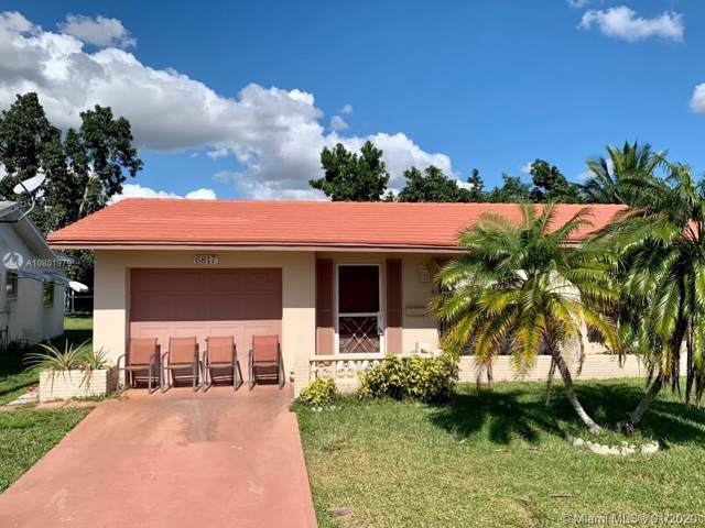 6817 NW 62nd St, Tamarac, FL 33321 (MLS #A10801979) :: Albert Garcia Team
