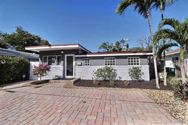 1567 NE 35th St, Oakland Park, FL 33334 (MLS #A10802049) :: Castelli Real Estate Services