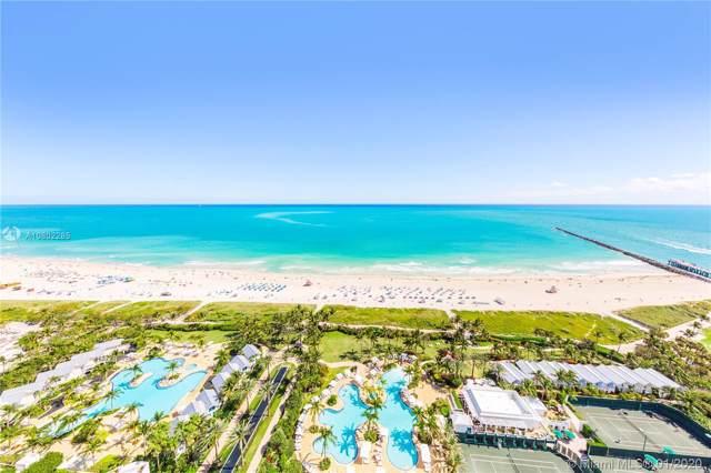 100 S Pointe Dr #2507, Miami Beach, FL 33139 (MLS #A10802285) :: The Paiz Group
