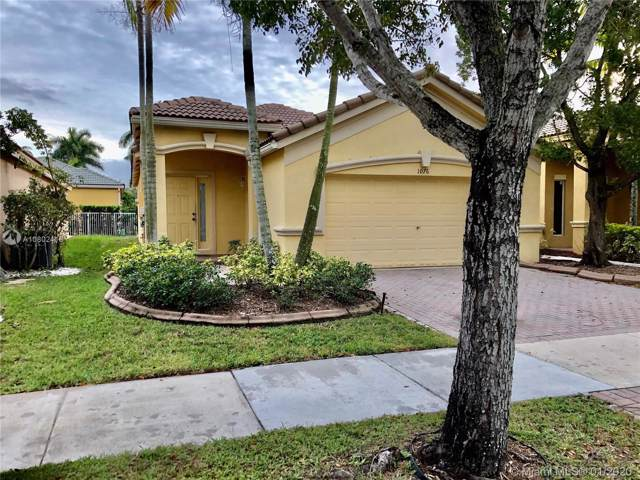 1076 Golden Cane Dr, Weston, FL 33327 (MLS #A10802416) :: Albert Garcia Team