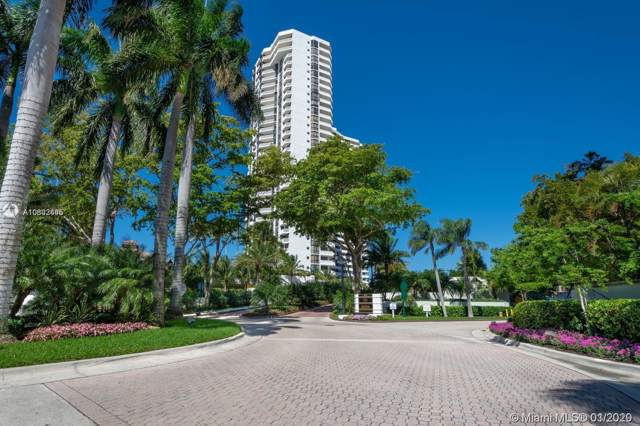 1000 W Island Blvd #202, Aventura, FL 33160 (MLS #A10802445) :: Green Realty Properties