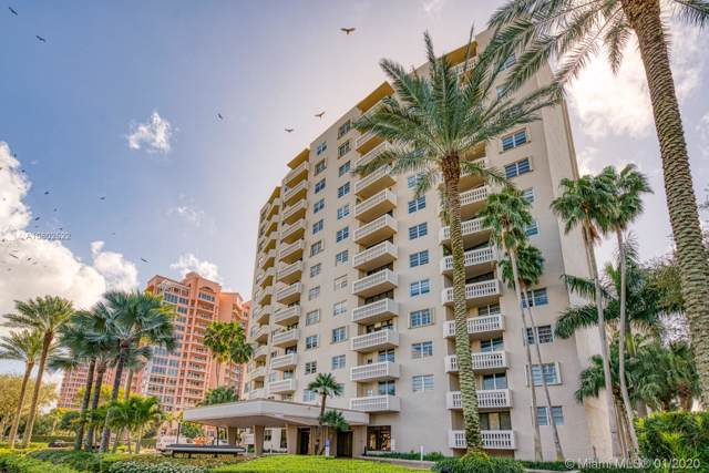 90 Edgewater Dr #311, Coral Gables, FL 33133 (MLS #A10802522) :: Berkshire Hathaway HomeServices EWM Realty