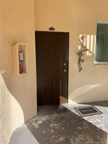1661 SE 28th St #108, Homestead, FL 33035 (MLS #A10802634) :: Grove Properties