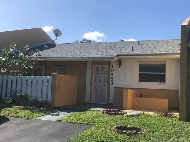 10383 SW 209th Ln, Cutler Bay, FL 33189 (MLS #A10802879) :: Green Realty Properties