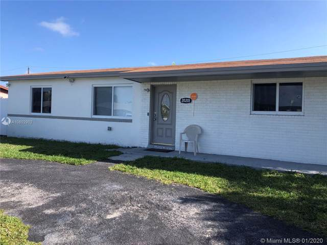 20201 SW 112th Ct, Miami, FL 33189 (MLS #A10802902) :: Green Realty Properties