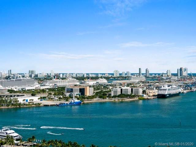 50 Biscayne Blvd #2502, Miami, FL 33132 (MLS #A10802932) :: Berkshire Hathaway HomeServices EWM Realty