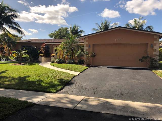 1770 NW 106th Ave, Pembroke Pines, FL 33026 (MLS #A10803008) :: The Teri Arbogast Team at Keller Williams Partners SW