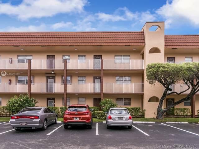 2711 N Pine Island Rd #104, Sunrise, FL 33322 (MLS #A10803112) :: Patty Accorto Team