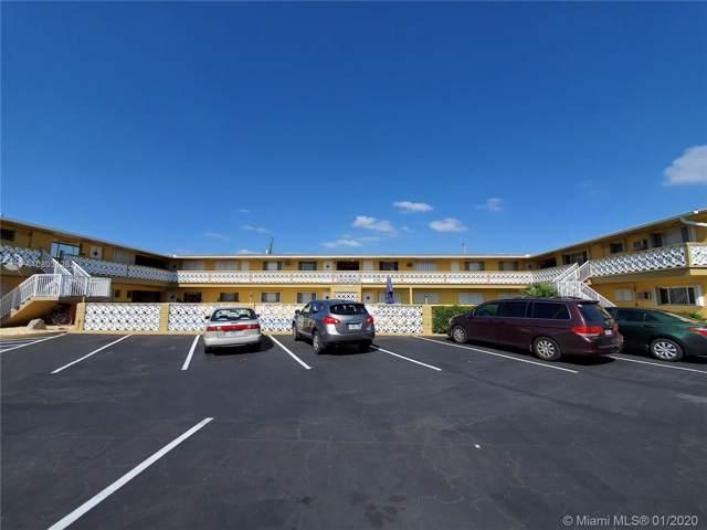 3525 Polk St #14, Hollywood, FL 33021 (MLS #A10803128) :: Green Realty Properties