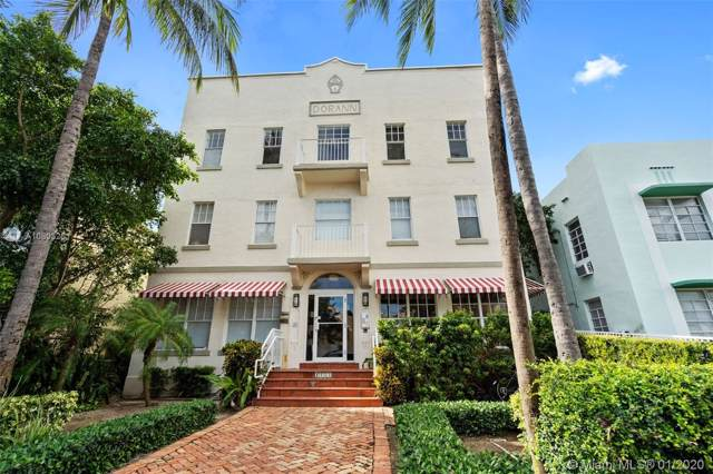 1244 Pennsylvania Ave #302, Miami Beach, FL 33139 (MLS #A10803261) :: Re/Max PowerPro Realty