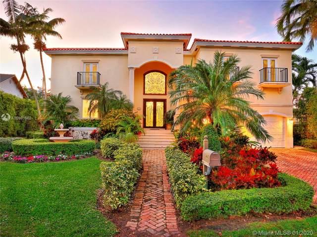 460 Palmwood Ln, Key Biscayne, FL 33149 (MLS #A10803562) :: Grove Properties