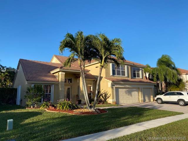 19451 NW 10th St, Pembroke Pines, FL 33029 (MLS #A10803724) :: The Teri Arbogast Team at Keller Williams Partners SW