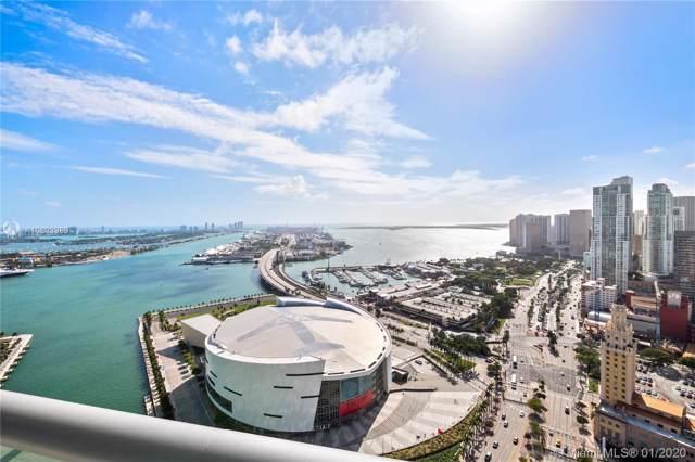888 Biscayne Blvd #4006, Miami, FL 33132 (MLS #A10803989) :: Grove Properties