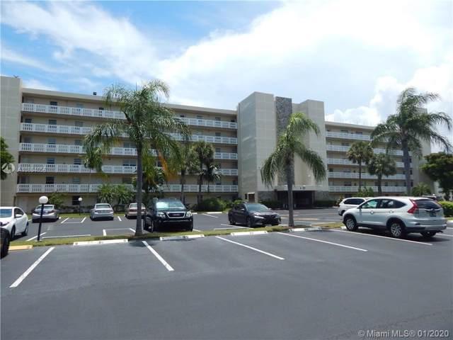 111 SE 3rd Ave #404, Dania Beach, FL 33004 (MLS #A10804056) :: Green Realty Properties
