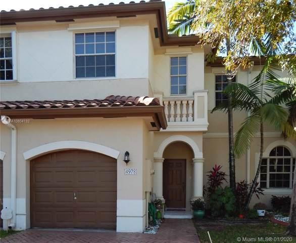 4978 SW 136th Ave, Miramar, FL 33027 (MLS #A10804132) :: Green Realty Properties
