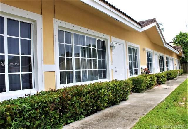 3844 SW 48th Ave C-19, Pembroke Park, FL 33023 (MLS #A10804206) :: Patty Accorto Team
