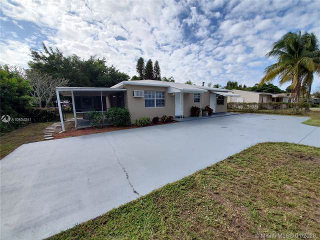 6118 Funston St, Hollywood, FL 33023 (MLS #A10804251) :: Green Realty Properties