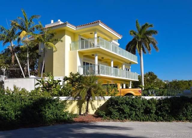 244 S Ocean Shores Dr, Key Largo, FL 33037 (MLS #A10804748) :: The Riley Smith Group