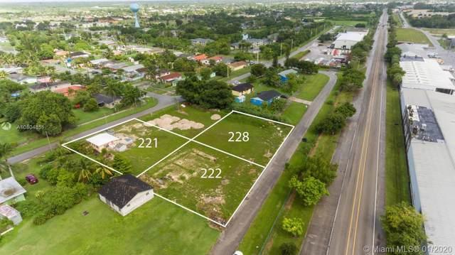 228 NW 2 Ave, Florida City, FL 33034 (MLS #A10804851) :: Berkshire Hathaway HomeServices EWM Realty