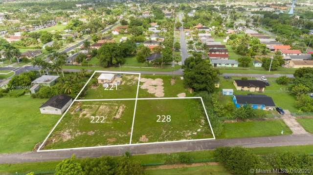222 NW 2 Ave, Florida City, FL 33034 (MLS #A10804857) :: Berkshire Hathaway HomeServices EWM Realty