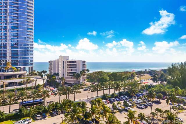 100 Bayview Dr #907, Sunny Isles Beach, FL 33160 (MLS #A10805022) :: The Paiz Group