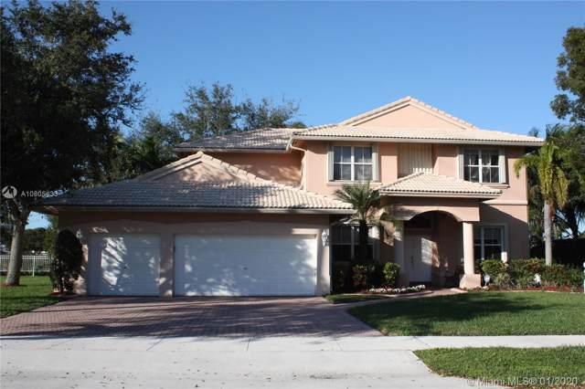 15841 SW 61st St, Davie, FL 33331 (MLS #A10805433) :: GK Realty Group LLC