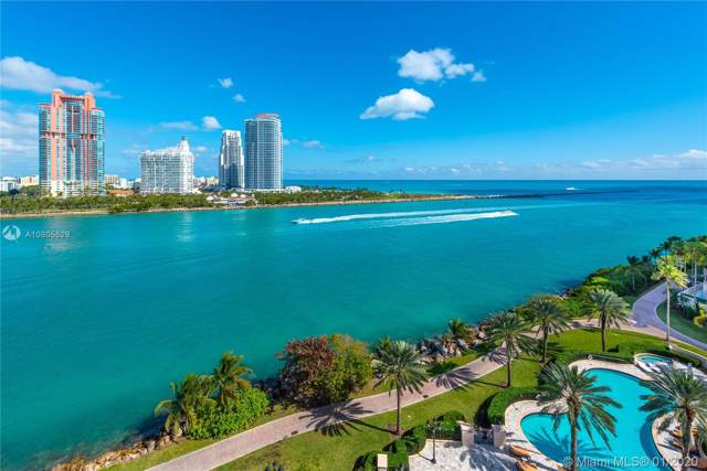 7192 Fisher Island Dr #7192, Miami Beach, FL 33109 (MLS #A10805529) :: The Paiz Group