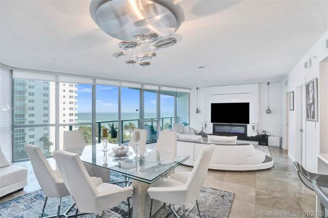 3101 S Ocean Dr #605, Hollywood, FL 33019 (MLS #A10805556) :: The Rose Harris Group
