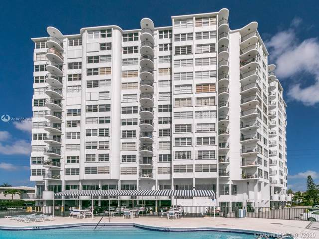 11930 N Bayshore Dr #601, North Miami, FL 33181 (MLS #A10805732) :: Lucido Global