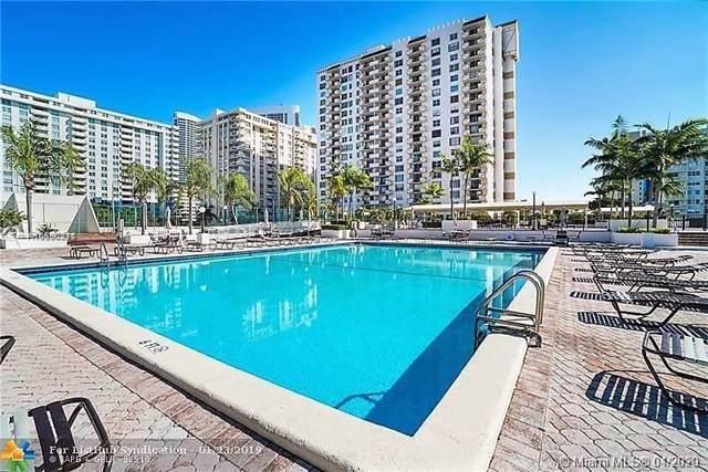 1865 S Ocean Dr 14B, Hallandale Beach, FL 33009 (MLS #A10806211) :: Prestige Realty Group