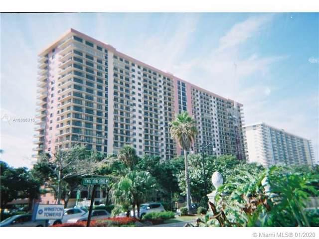 210 174 #1009, Sunny Isles Beach, FL 33160 (MLS #A10806316) :: Lucido Global