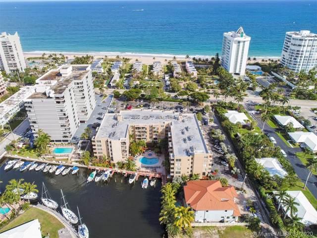 1421 S Ocean Blvd #214, Pompano Beach, FL 33062 (MLS #A10806387) :: Castelli Real Estate Services