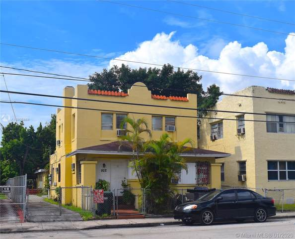 922 NW 2nd St, Miami, FL 33128 (MLS #A10806444) :: Albert Garcia Team
