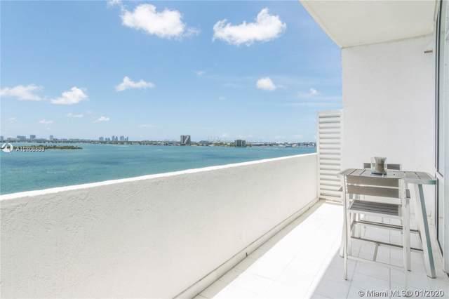 665 NE 25th St #801, Miami, FL 33137 (MLS #A10806583) :: The Adrian Foley Group