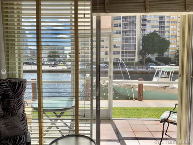 2600 Diana Dr #103, Hallandale Beach, FL 33009 (MLS #A10806829) :: The Pearl Realty Group