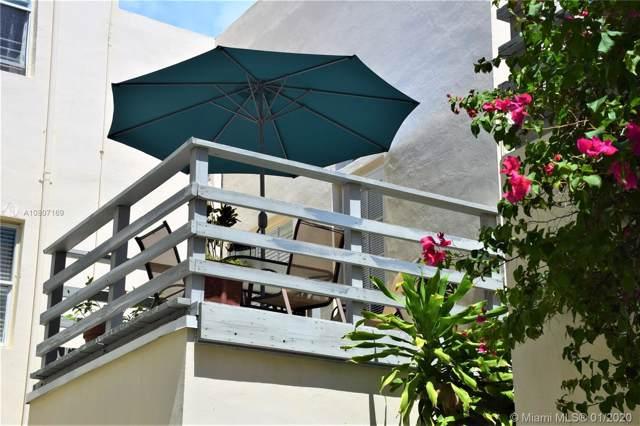 408 W 25th St #8, Miami Beach, FL 33140 (MLS #A10807169) :: Miami Villa Group