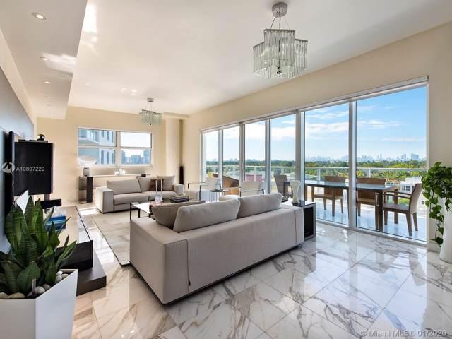 6103 Aqua Ave #705, Miami Beach, FL 33141 (MLS #A10807220) :: Miami Villa Group