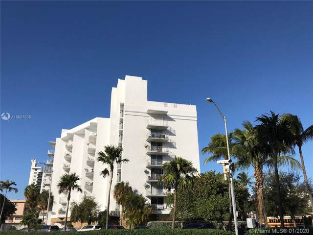 6801 Indian Creek Dr #503, Miami Beach, FL 33141 (MLS #A10807805) :: The Jack Coden Group