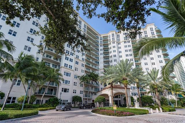 19900 E Country Club Dr #516, Aventura, FL 33180 (MLS #A10807868) :: Green Realty Properties