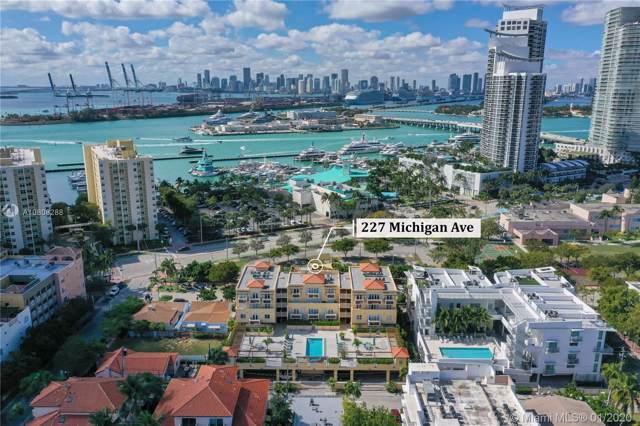 227 Michigan Ave #401, Miami Beach, FL 33139 (MLS #A10808288) :: Green Realty Properties