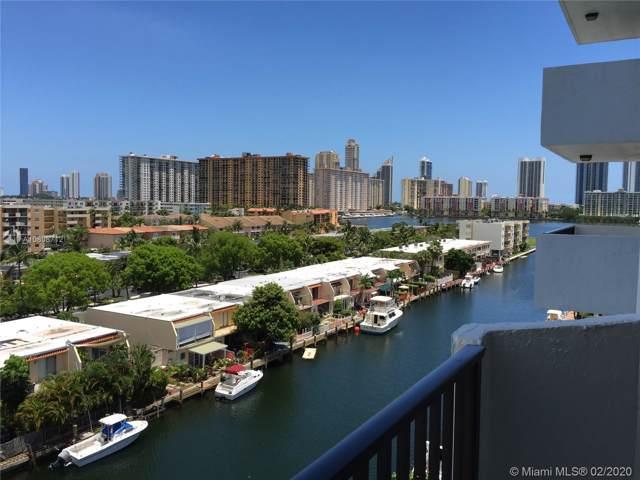 3703 NE 166 ST #802, North Miami Beach, FL 33160 (MLS #A10808712) :: Berkshire Hathaway HomeServices EWM Realty