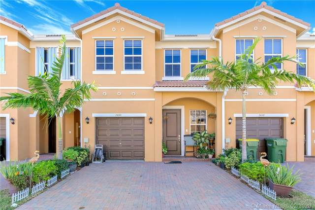2440 SE 15th St #2440, Homestead, FL 33035 (MLS #A10808821) :: THE BANNON GROUP at RE/MAX CONSULTANTS REALTY I