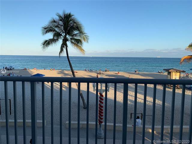 400 N Surf Rd #305, Hollywood, FL 33019 (MLS #A10809066) :: The Howland Group