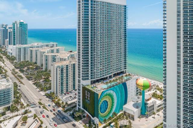 4111 S Ocean Dr #3506, Hollywood, FL 33019 (MLS #A10809320) :: Lucido Global