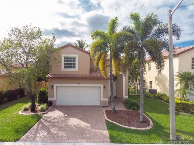 1260 NW 192nd Ln, Pembroke Pines, FL 33029 (MLS #A10809542) :: Castelli Real Estate Services