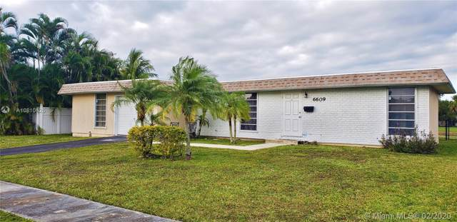 6609 NW 80th Ct, Tamarac, FL 33321 (MLS #A10810525) :: Green Realty Properties