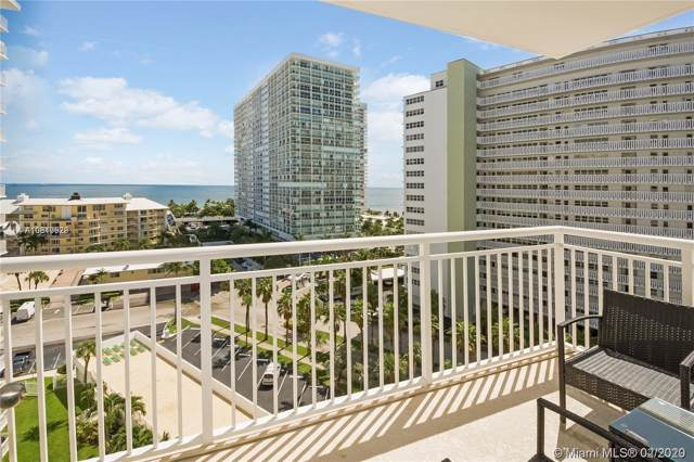 1920 S Ocean Dr #1009, Fort Lauderdale, FL 33316 (MLS #A10810529) :: Prestige Realty Group