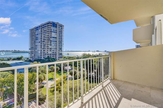 11111 Biscayne Blvd #821, Miami, FL 33181 (MLS #A10810795) :: Ray De Leon with One Sotheby's International Realty