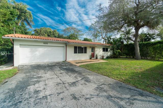 635 NE 116th St, Biscayne Park, FL 33161 (MLS #A10811001) :: Grove Properties